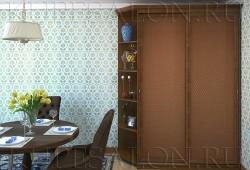 №38. Шкаф имидж с ротангом  Цена: 36 000 руб
