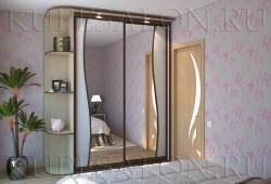 """№5. Зеркало с <a href=""""http://www.kupesalon.ru/catalog/iz-rotanga-i-bambuka"""" title=""""Цены на шкафы с ротангом"""">ротангом</a>"""