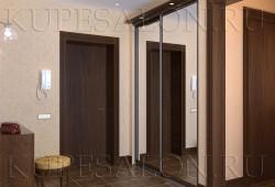 №9. Шкаф зеркальный встроенный  Цена: 22 200 руб
