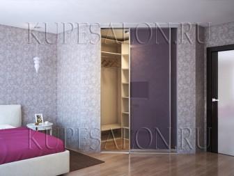 Гардеробные комнаты дизайн проекты в спальне угловые
