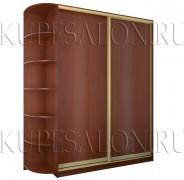 двухдверный шкаф купе из ламинированного дсп фото