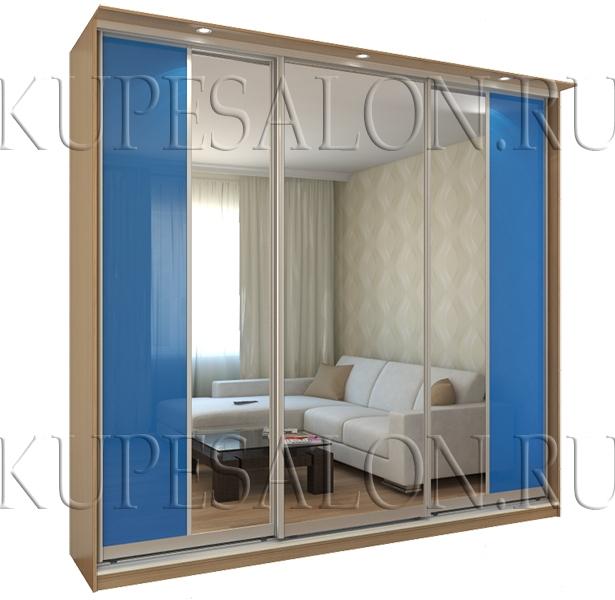 шкаф купе с зеркалом на заказ фото и цена