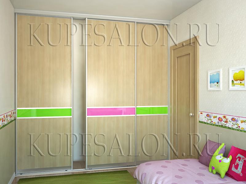 красивые комбинированные двери для шкафа купе фото