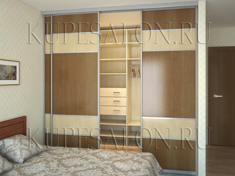 планировка гардеробной в спальне фото и цена