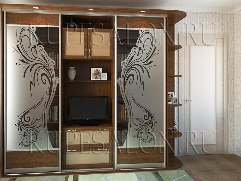 образец шкафа купе для гостиной фото и цена