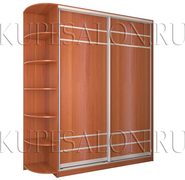 недорогой маленький шкаф купе из лдсп фото