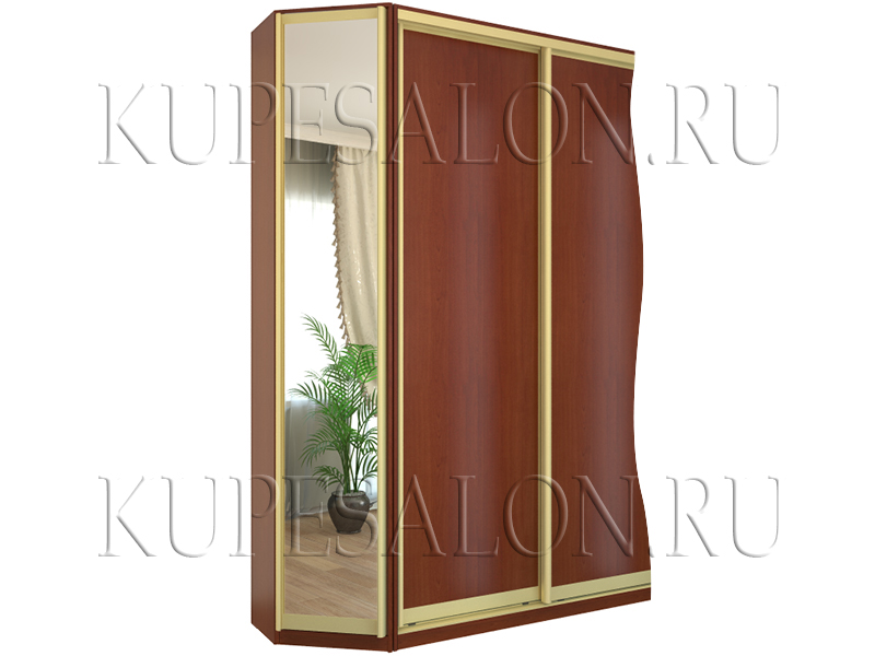 Закажите угловой закрытый стеллаж как декоративный и функцио.