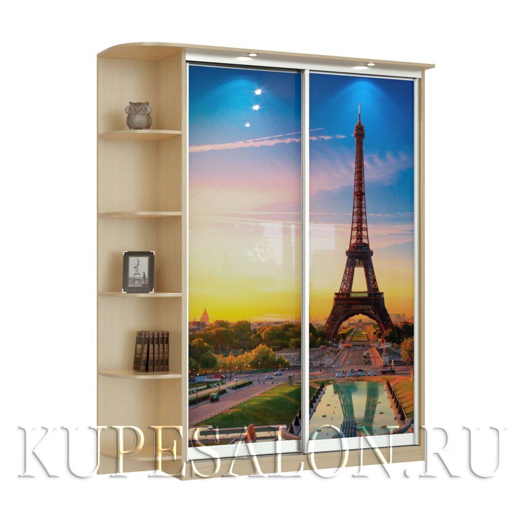 Париж-2-фотопечать шкаф купе