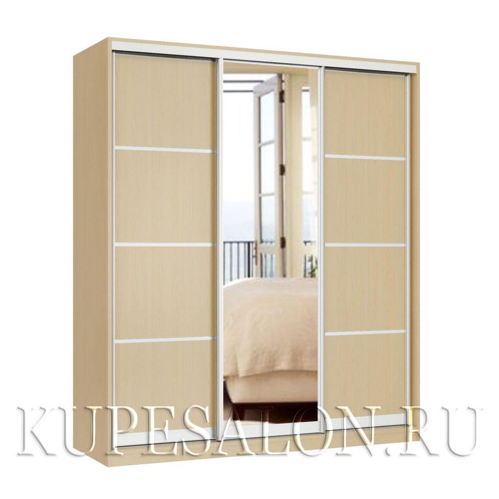Реверанс-3 с зеркалом шкаф купе
