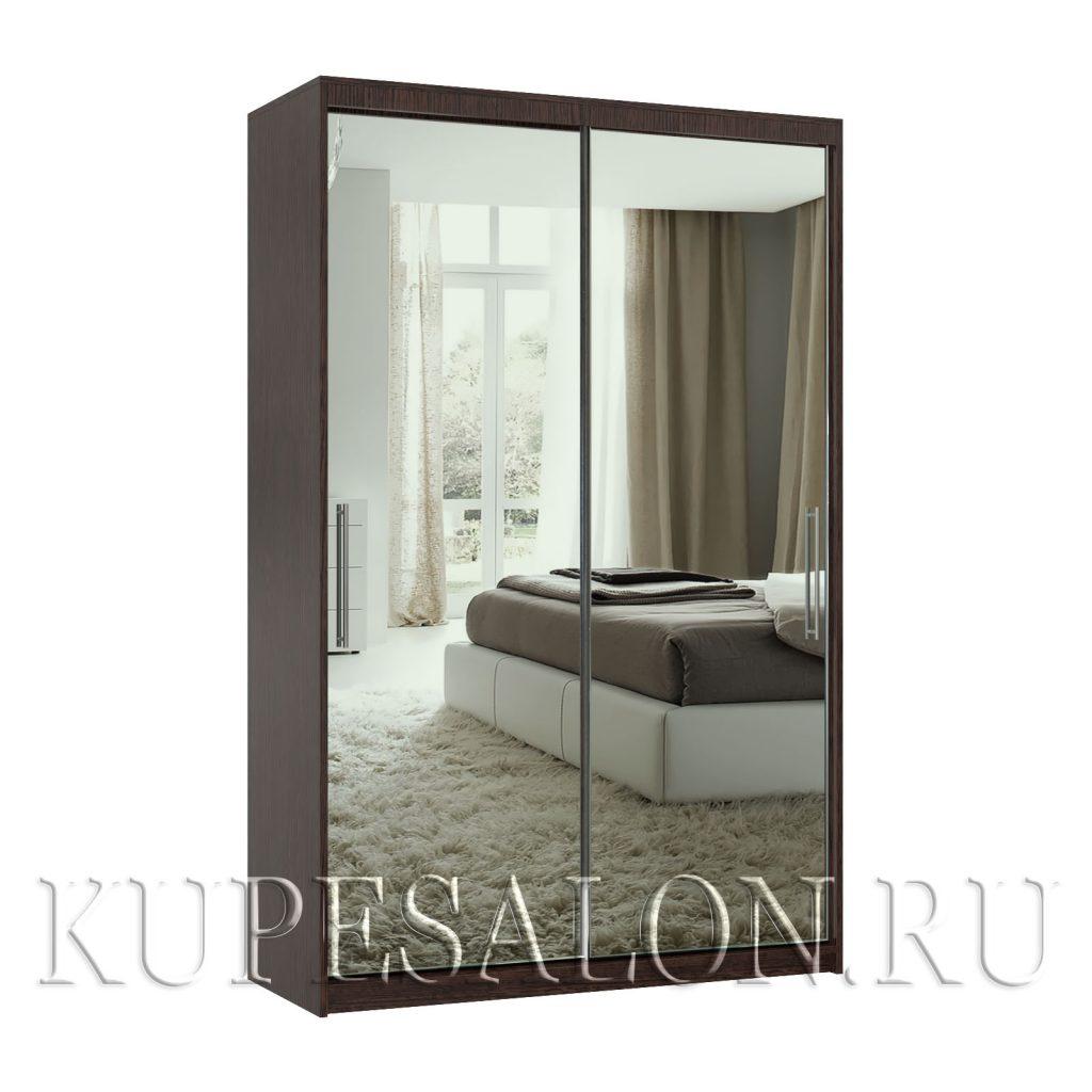 Эконом-2 шкаф-купе зеркальный
