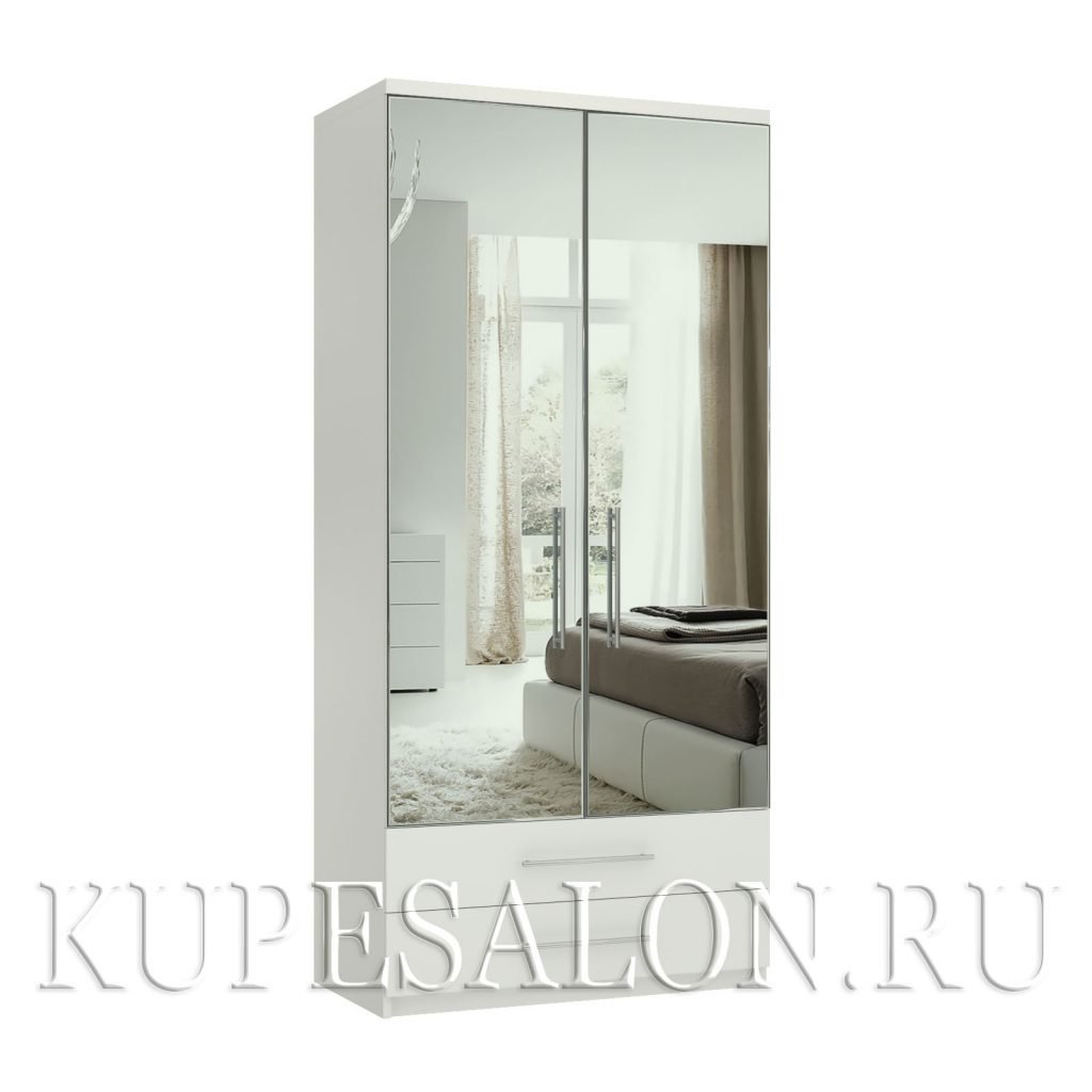 Комфорт-2-я шкаф зеркальный