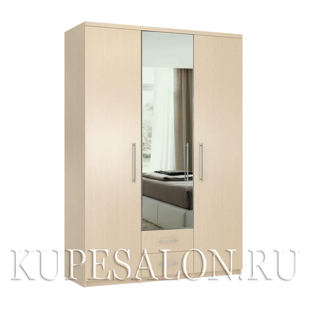 Комфорт-3-я2 шкаф с зеркалом
