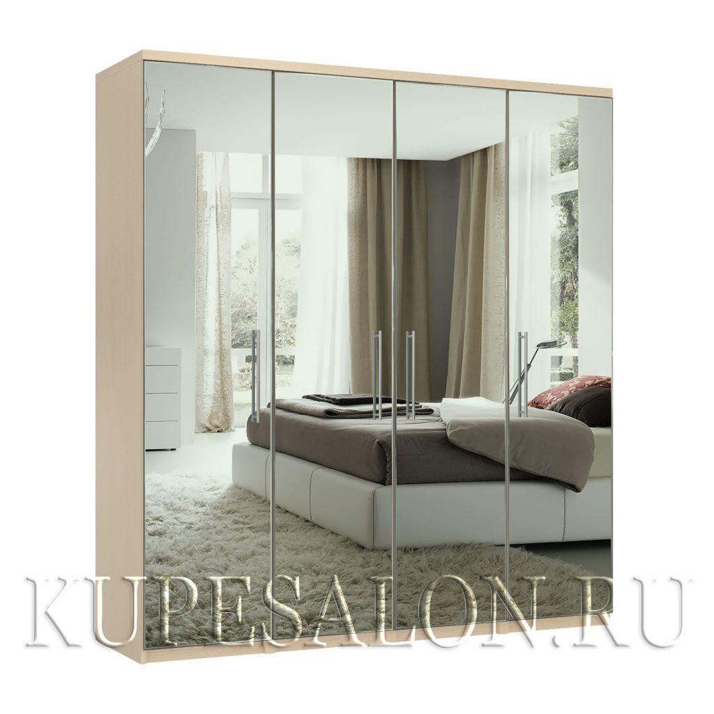 Комфорт-4 шкаф зеркальный