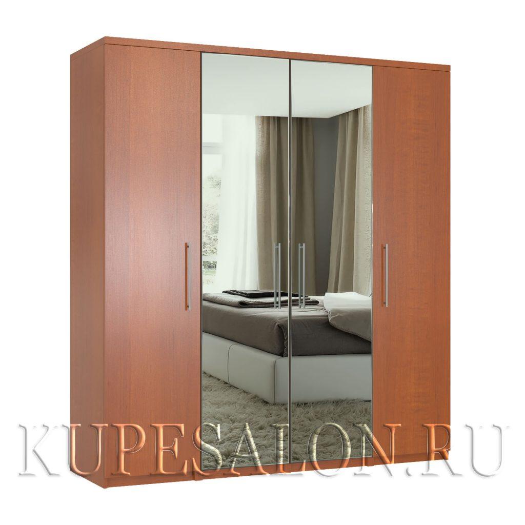 Комфорт-4 шкаф с зеркалом