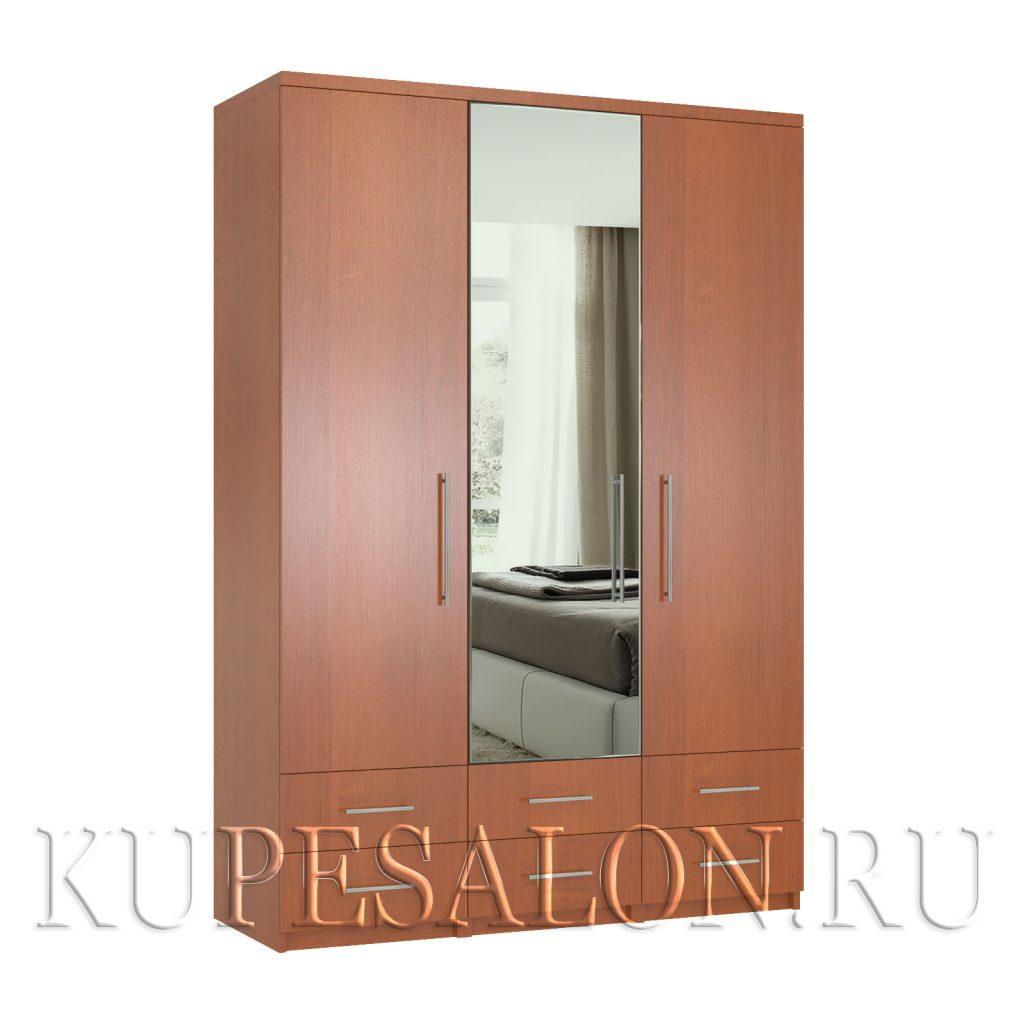 Комфорт-3-я1,2,3 шкаф с зеркалом