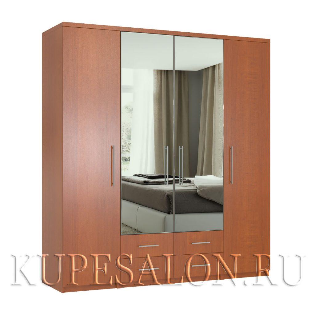 Комфорт-4-я2,3 шкаф с зеркалом