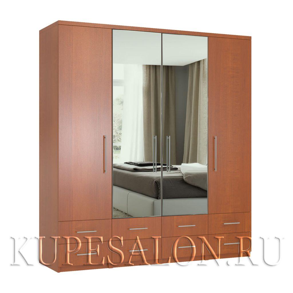 Комфорт-4-я1,2,3,4 шкаф с зеркалом