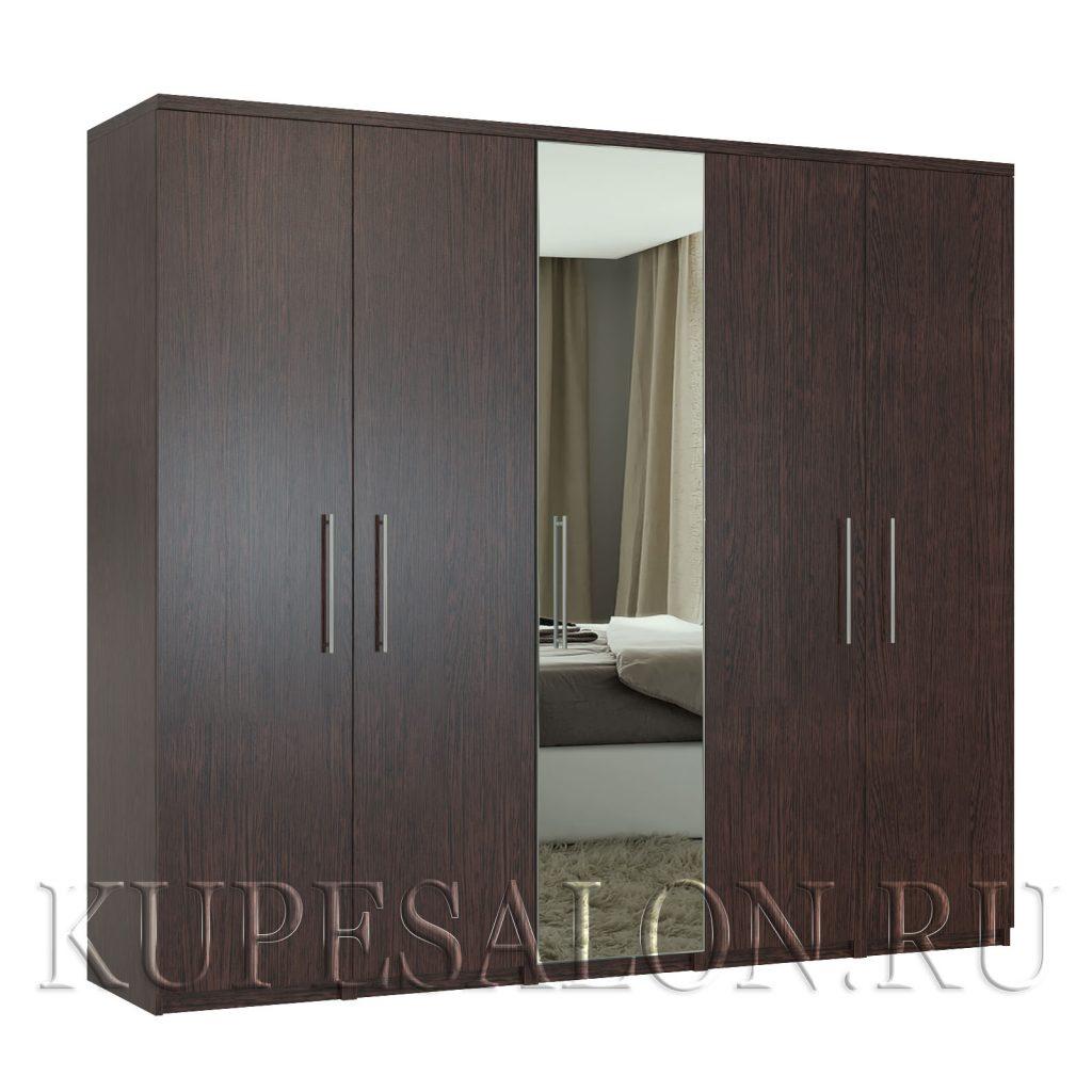 Комфорт-5 шкаф с зеркалом-3