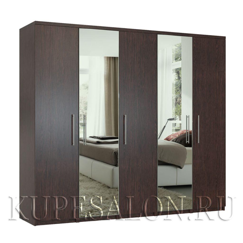 Комфорт-5 шкаф с зеркалом-2,4