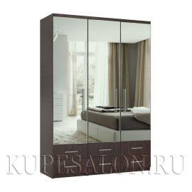 Комфорт-3-я1,2,3 шкаф зеркальный