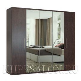 Комфорт-5 шкаф с зеркалом-2,3,4