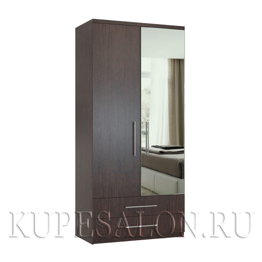 Комфорт-2-я шкаф с зеркалом