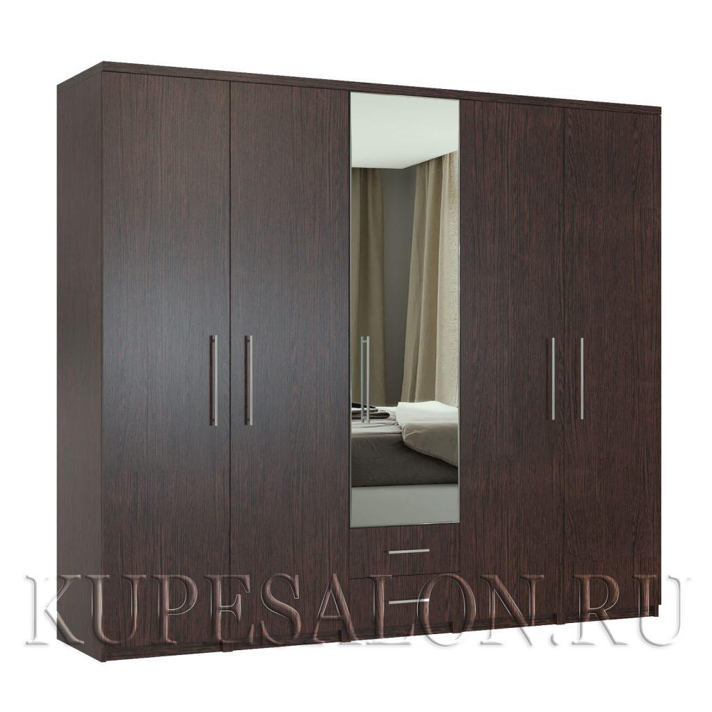 Комфорт-5-я3 шкаф с зеркалом-3