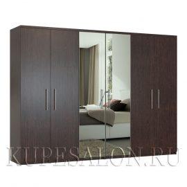 Комфорт-6 шкаф с зеркалом-3,4