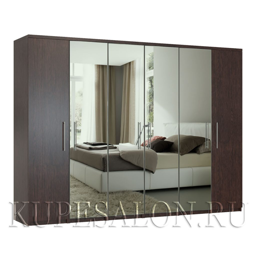 Комфорт-6 шкаф с зеркалом-2,3,4,5