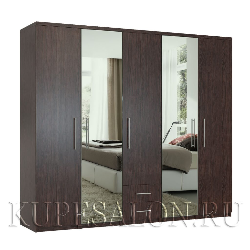Комфорт-5-я3 шкаф с зеркалом-2,4