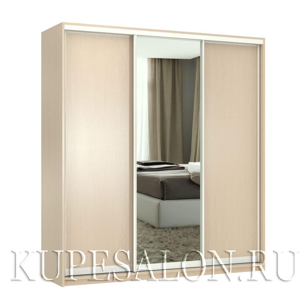 Стандарт-3 шкаф-купе с зеркалом