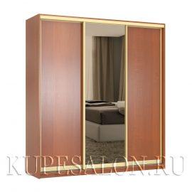 Стандарт-3 шкаф-купе с зеркалом бронза