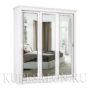 Шкаф купе классика-2-220 трехдверный зеркальный