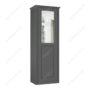 Шкаф классический-4 одностворчатый с зеркалом