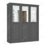 Шкаф классический-4 трехстворчатый с зеркалом