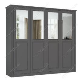 Шкаф классический-4 четырехстворчатый с зеркалом