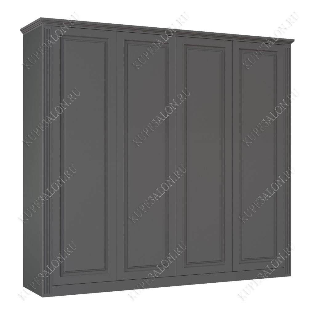 Шкаф классический-1 четырехстворчатый