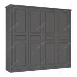Шкаф классический-8 четырехстворчатый