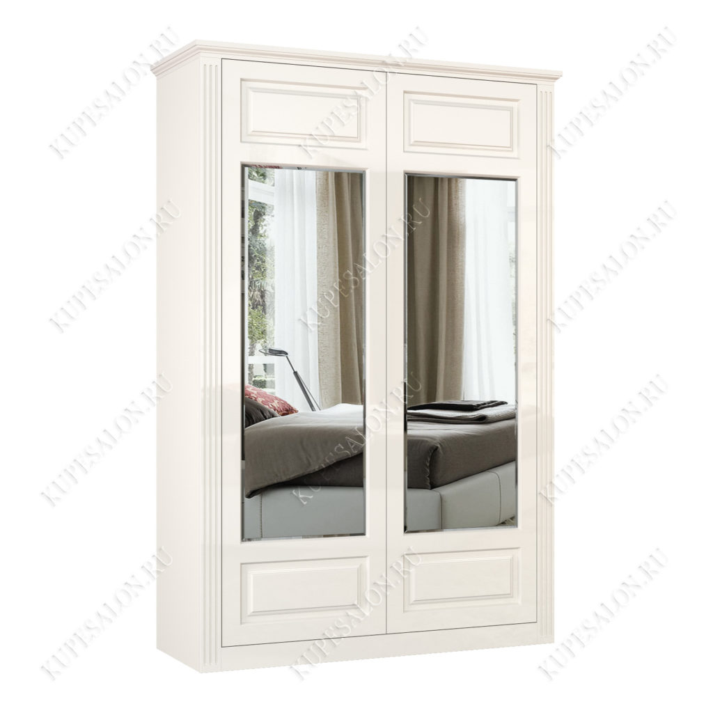 Шкаф классический-3 двухстворчатый с зеркалом