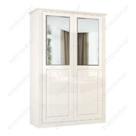 Шкаф классический-4 двухстворчатый с зеркалом