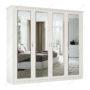Шкаф классический-2 четырехстворчатый зеркальный