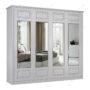 Шкаф классический-3 четырехстворчатый с зеркалом