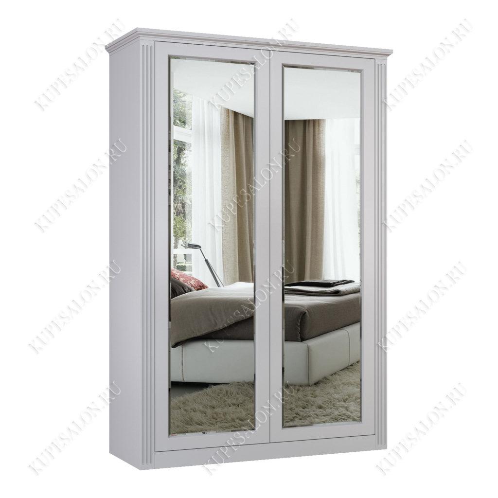 Шкаф классический-2 двухстворчатый зеркальный